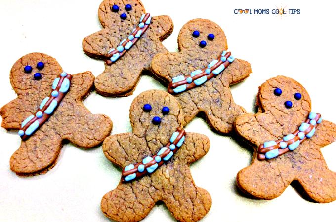 Star Wars Return of the Jedi Chewbacca Gingerbread Cookie Recipe