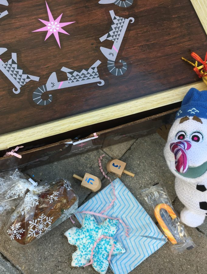 Tips to Put Together a Holiday Tradition Surprise Box Inspired by Olaf's Frozen Adventure