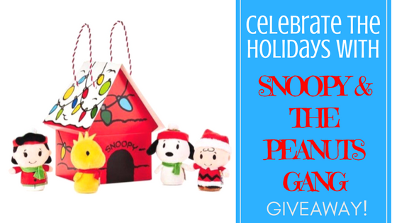 Celebrate The Holidays With The Peanuts Gang! Plus Snoopy Prize Pack Giveaway!