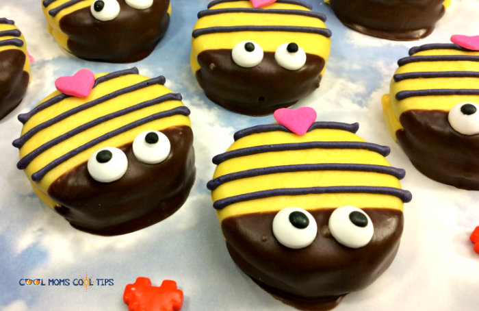 How to Make Sweet Valentine Bumble Bee Cookies