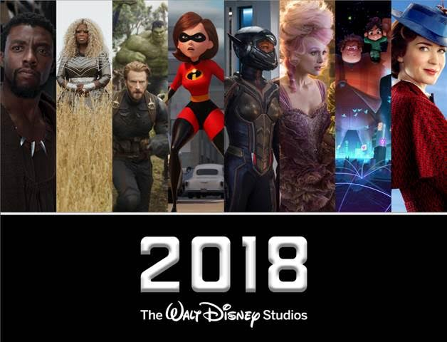 Movies To Watch This Year: The 2018 Walt Disney Studios Motion Pictures Movie Slate