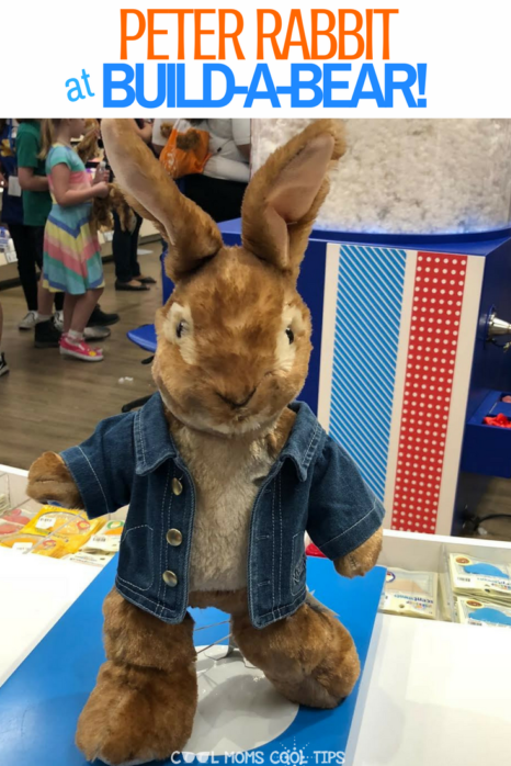 Come make your very own Peter Rabbit furry friend at Build a Bear!