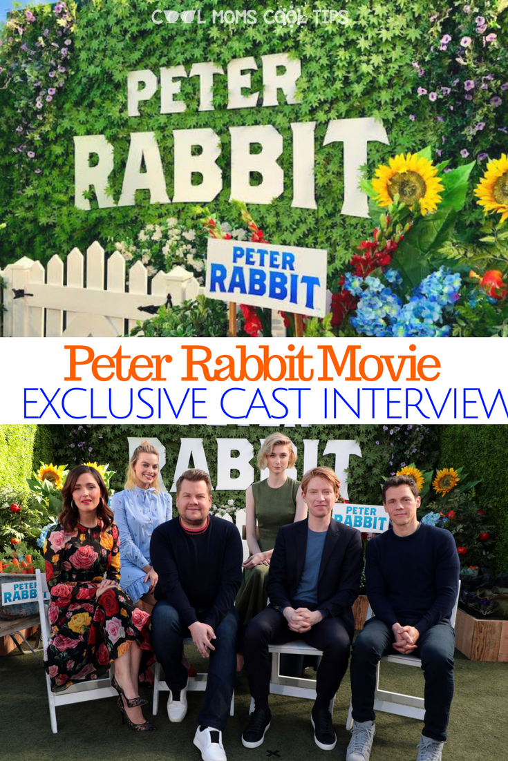 Get the details on the movie Peter Rabbit straight form the cast! we have the exclusive interview!