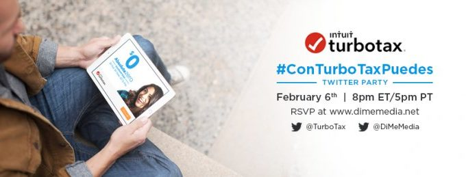 Join Us for the TurboTax #ConTurboTaxPuedes Twitter Party