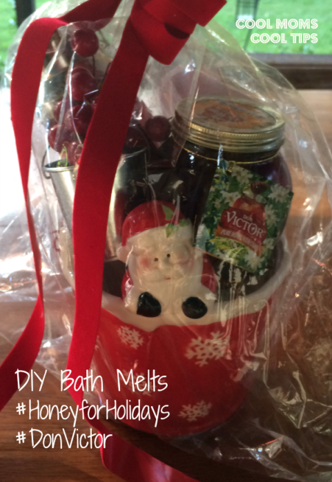 cool moms cool tips #honeyforholidays #donvictor #ad  DIY bath melts and honey for gift sets