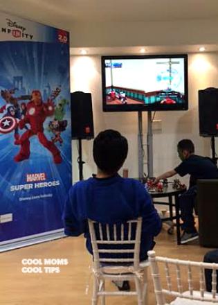 cool-moms-cool-tips-Disney-Infinity Marvel-Super-Heroes-Regalo-Perfecto-Para- Dia-de-Reyes en evento