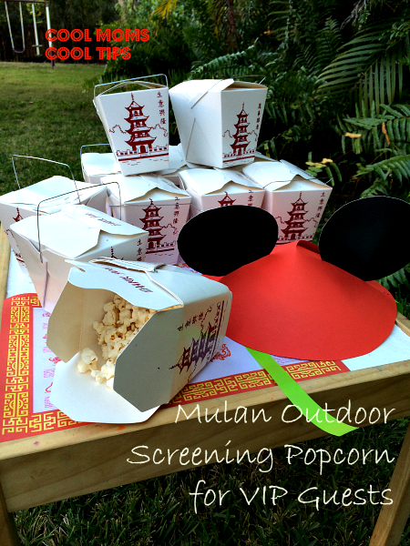 outdoor-movie-screening-popcorn-statin-cool-moms-cool-tips #DisneySide -chinese-new-year-Celebration