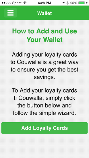 Couwalla Wallet feature- Cool Moms Cool Tips