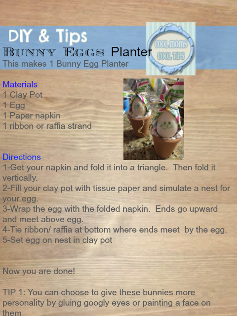 DIY-bunny-egg-plnater-instructins-cool-moms-cool-tips #spon #honeybakedeaster