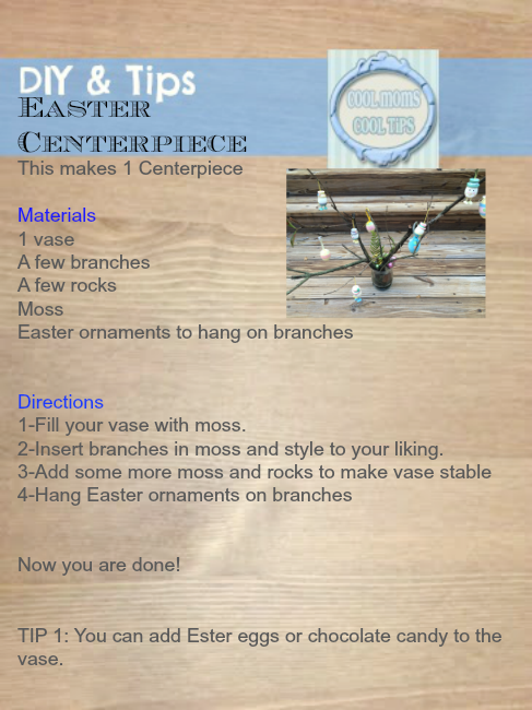 Easter-easy-centerpiece-with-branches-instructions-cool-moms-cool-tips #spon #honeybakedeaster