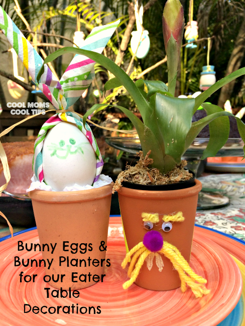 bunny-eggs-bunny-planters-table-decor-cool-moms-cool-tips #ad #honeybakedeaster