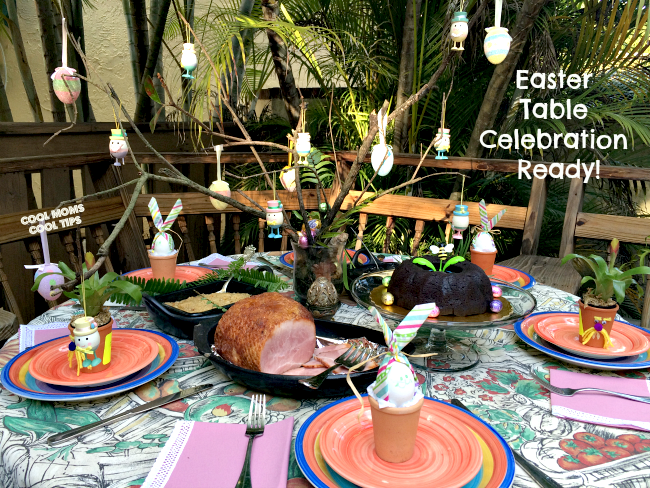 easter-table-food-and-decor-ready-cool-moms-cool-tips #spon #honeybakedeaster