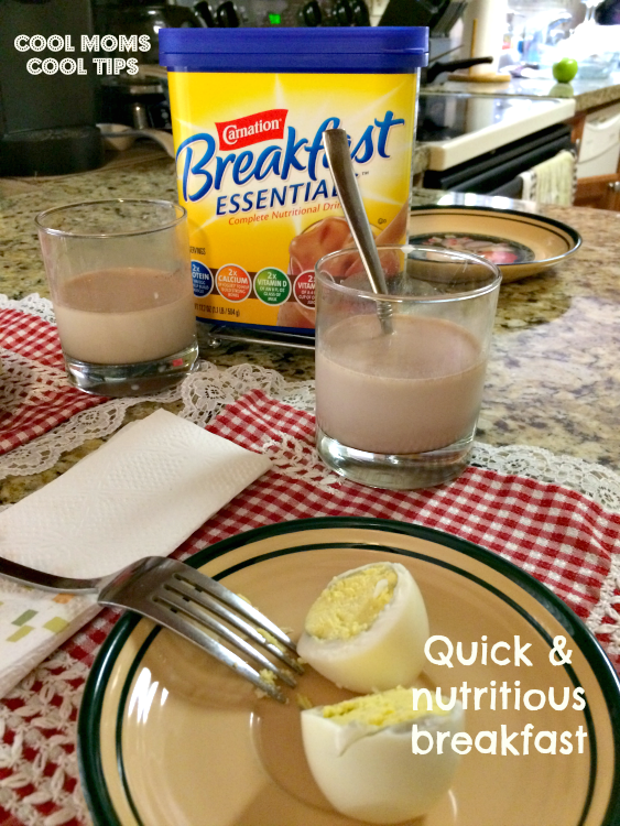 eggs-nestle-carnation-breakfast-essentials- cool-moms-cool-tips #ad #50yearsofbreakfast