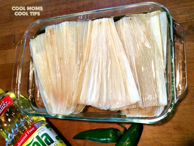 tamal-mexicano-hoja-en-remojo-cool-moms-cool-tips #ad