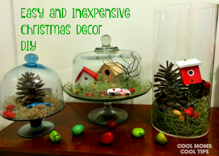 Tips for Financial Holiday Happiness-DIY-winter-village-DIY-cool-moms-cool-tips #ad