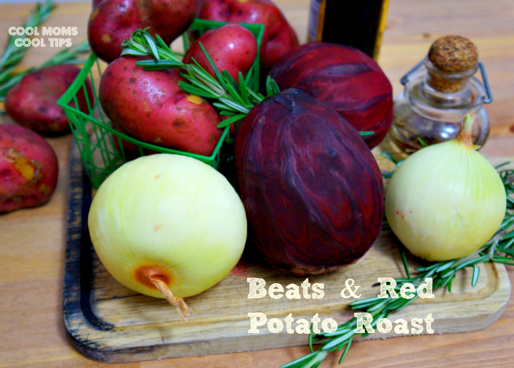 beets and red potato roast cool moms cool tips #ad