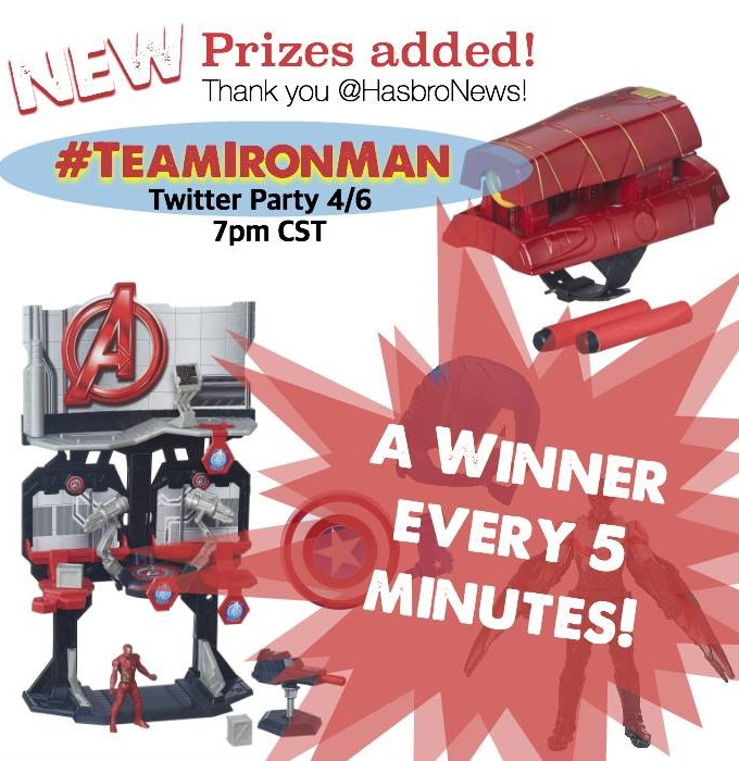 Hasbro #TeamIronMan Party pack