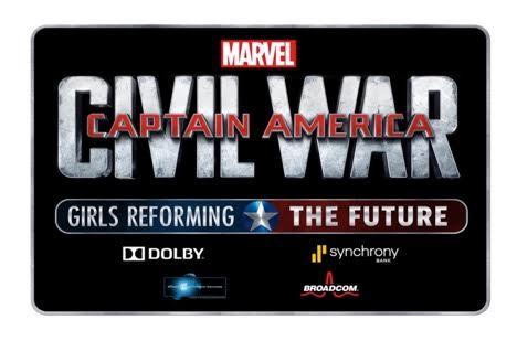captain america civil war girls in stem challenge