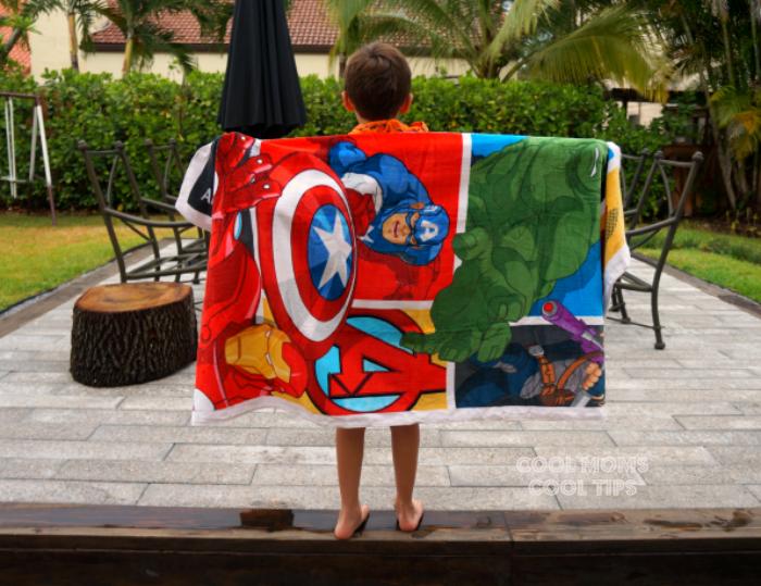 avengers beach towel