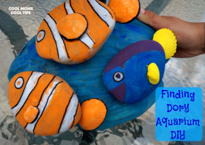 Finding Dory Aquarium DIY cool moms cool tips