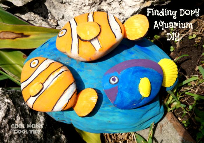 Finding Dory Aquarium DIY easy craft cool moms cool tips