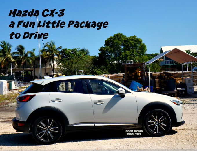 Mazda CX3 is a Fun Little Package to Drive cool moms cool tips
