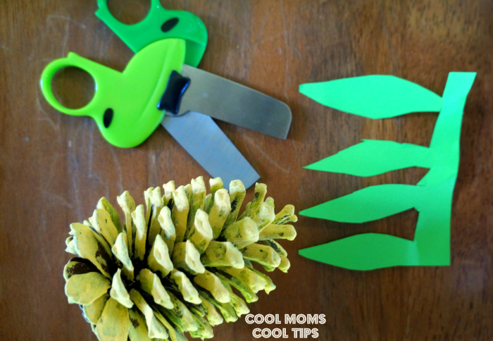 adorable tropical pineapple summer diy materials cool moms cool tips #Bringthetropicshome #ad