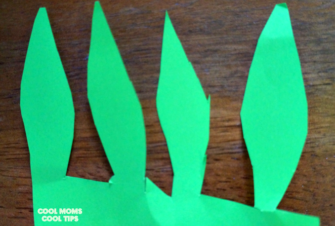 tropical pineapple summer diy leaves template cool moms cool tips #ad #bringthetropicshome