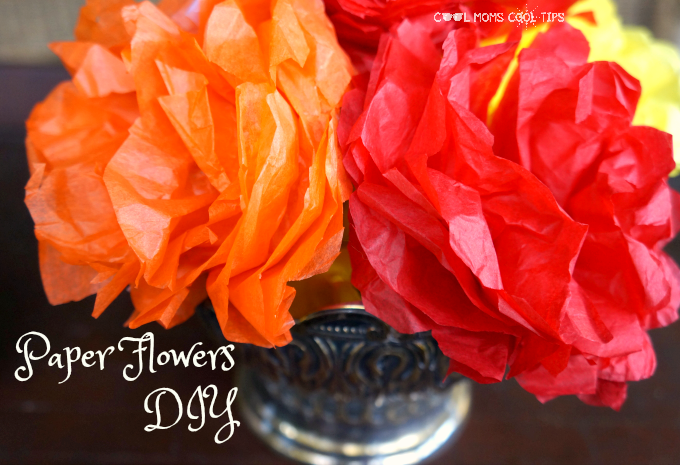 paper flowers diy cool moms cool tips