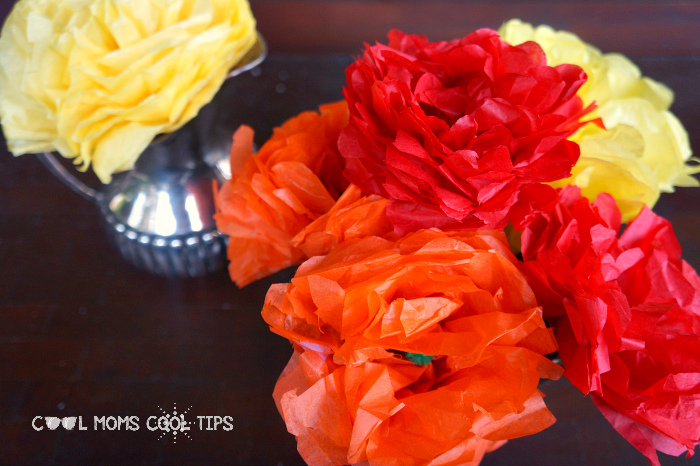 paper flowers diy cool moms cool tips easy craft
