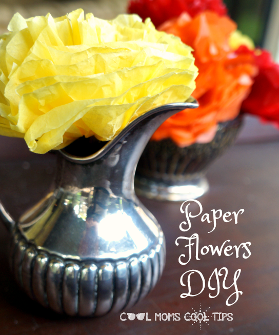 tissue paper flowers diy cool moms cool tips vertical