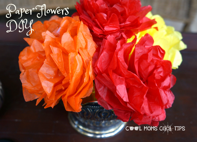 tissue paper flowers diy cool moms cool tips