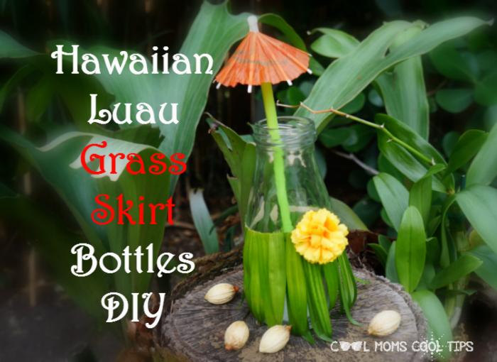 hawaiian-luau-grass-skirt-bottles-diy-cool-moms-cool-tips