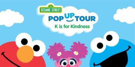 Sesame Street K is for knindness tour - cool moms coo ltips