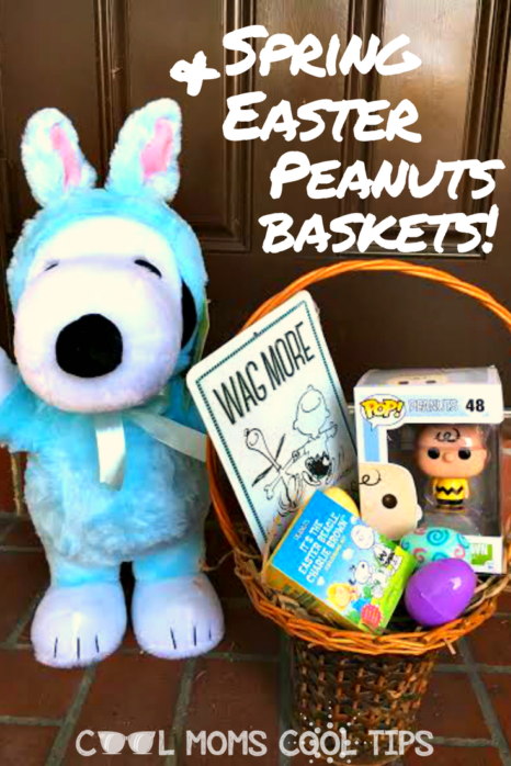 Need Easter basket ideas? Ready to celebrate Spring? Celebrate Easter and Spring The Peanuts Way