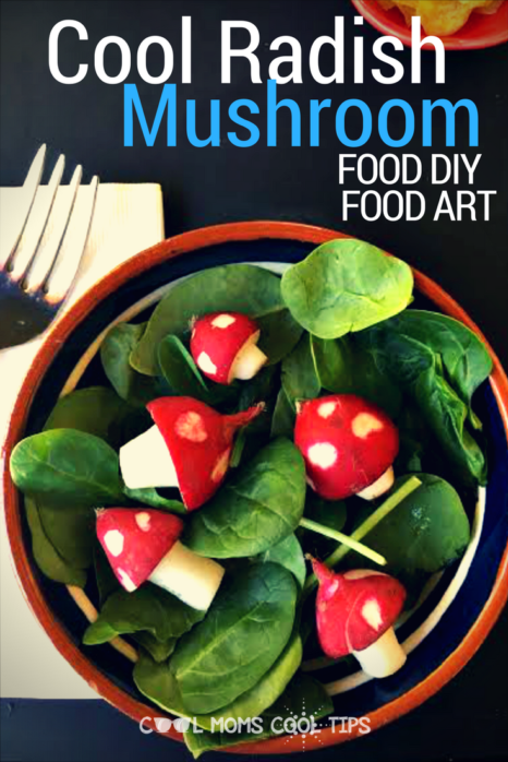 Looking for a fun way to decorate your food? We have amazing cool radish mushrooms that you can make quickly! Great for picky eaters to dig in too