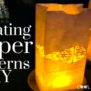 floating paper lanterns diy