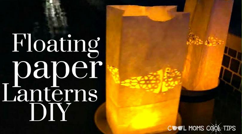 floating paper lanterns diy
