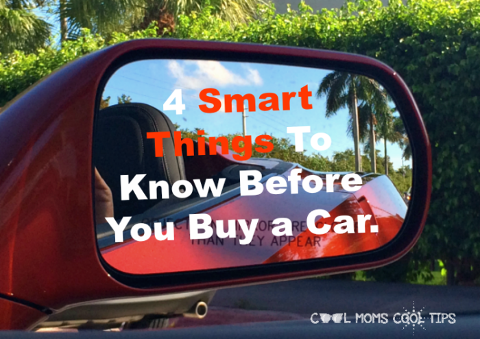 tips to buying a car