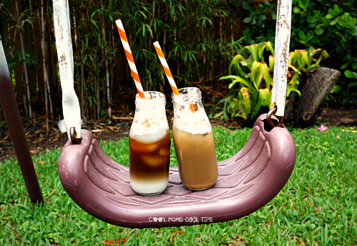 Iced Mexican Coffee with Dulce de Leche cool moms cool tips