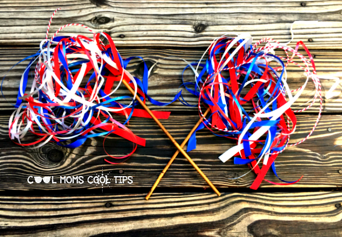 fourth of july wand diy cool moms cool tips