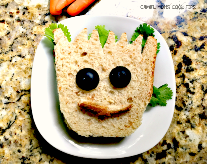 Baby Groot Sandwich-A Food Art DIY