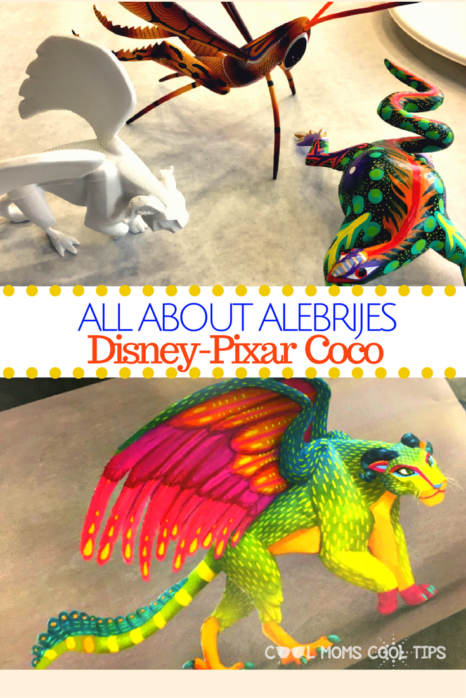 Do you know what alebrijes are?  We tall you all about alebrijes and their colorful art expression!