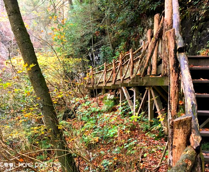 bushkill falls trails cool moms cool tips