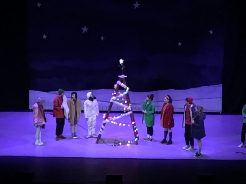 A Charlie Brown Christmas Live On Stage.A Charlie Brown Christmas Live On Stage Tradition Is A