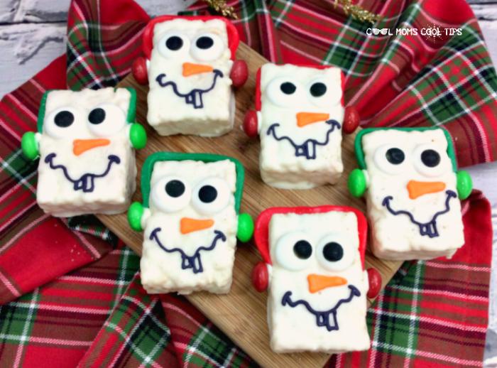 Disney Inspired snowman sweet treats recipe