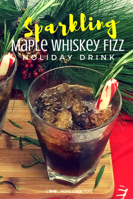 Looking for a great and different holiday drink? Make this Easy, delicious and very festive drink that is sure to make your celebrations merrier!