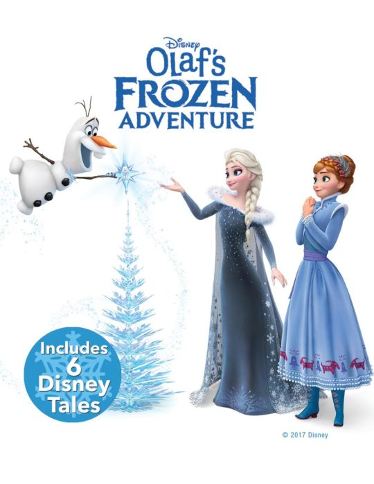 Olaf's Frozen Adventure plus 6 Disney classic holiday shorts