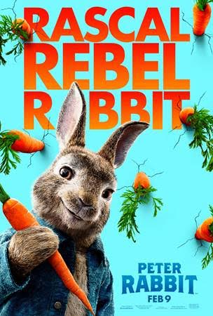 peter rabbit film poster