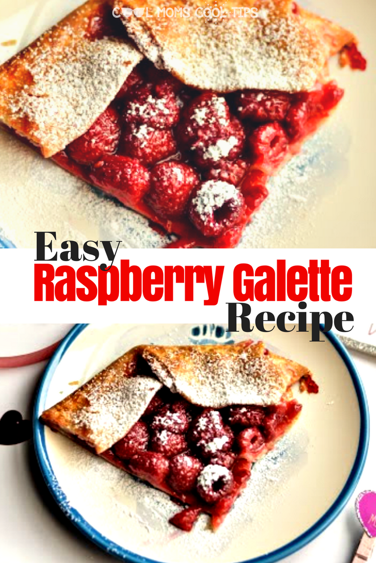 Need the perfect easy dessert? Make this raspberry galette which is simple and very satisfying. plus you will look like you slaved in the kitchen when you did not!